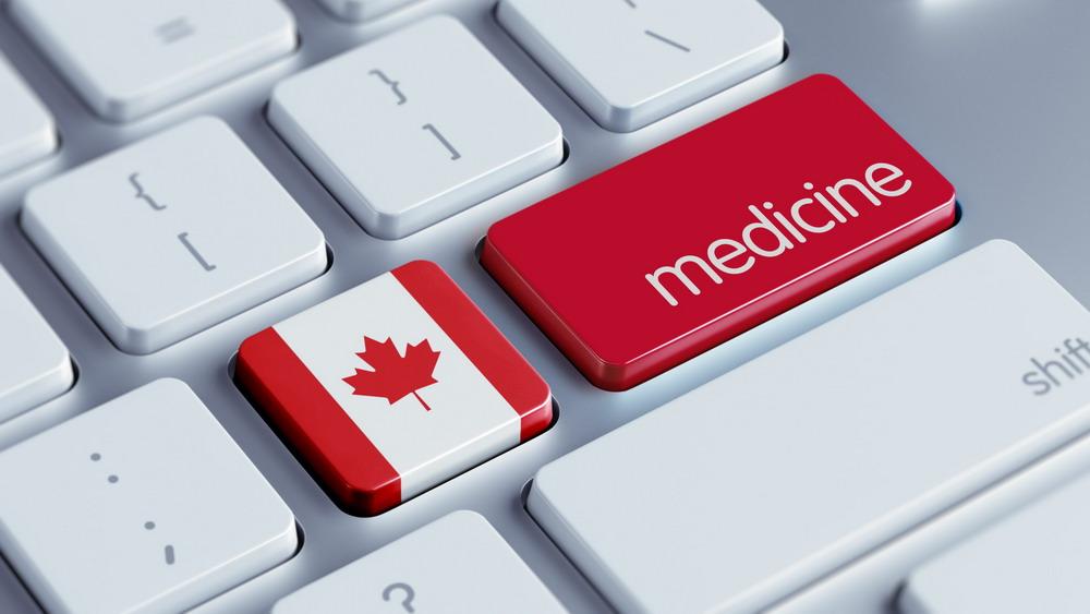 Canada Medicine Concept